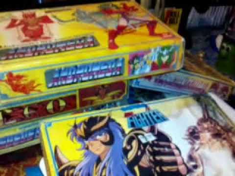 La Coleccion Personal en Caballeros del Zodiaco Version Asia Taiwan de los 90'S