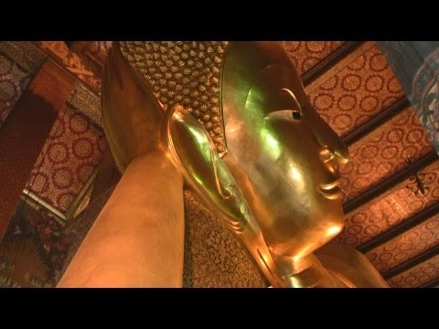 Wat Pho (Temple of the Reclining Buddha), Bangkok, Thailand