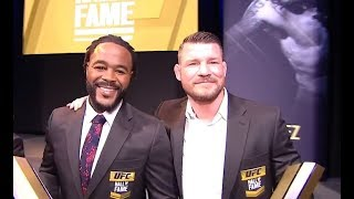 2019 UFC Hall of Fame Ceremony Highlights
