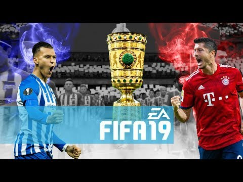 FIFA 19: DFB POKAL FINALE FC BAYERN Vs HERTHA BSC
