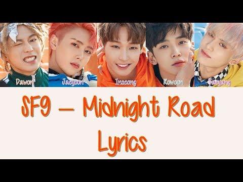 SF9  – Midnight Road [Hang, Rom & Eng Lyrics]