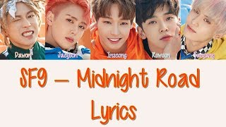 sf9 midnight road