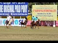 12th Manipur Polo International 2018: India beat England by 7-4