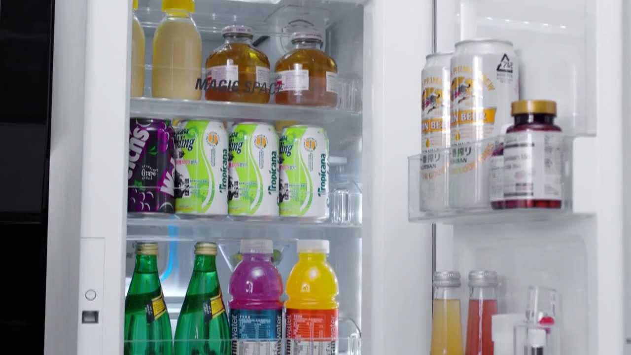 9886c6eca4e LG Refrigerator – Door-in-door Side-by-side Features - YouTube