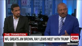 "Jim Brown on Donald Trump: He has ""my admiration"""