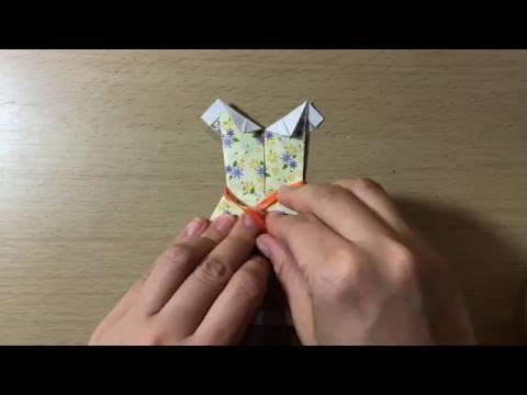Origami Dress for Mothers Day