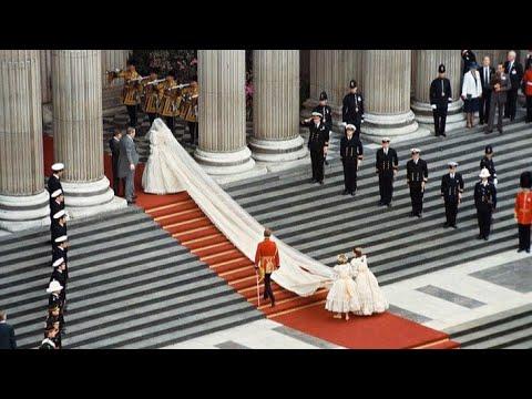 Princess Diana - The Royal Wedding Full Video