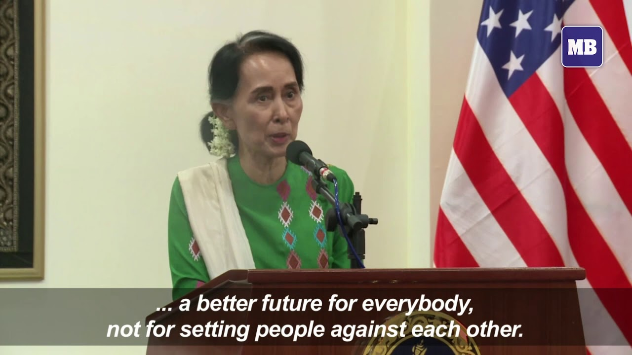 Myanmar's Suu Kyi says she 'hasn't been silent' over Rohingya crisis
