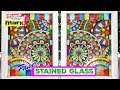Colorful Faux Stained Glass DIY