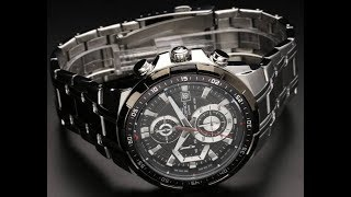 Casio EX192 EFR-539D-7AVUDF STANDARD CHRONOGRAPH | EDIFICE Series Hands On Review in Kannada!!