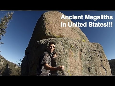 Ancient Megalith structures? Mud Fossils?  USA Day 2