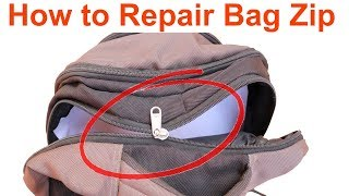 How to Repair a Bag Zip | Help in Tamil