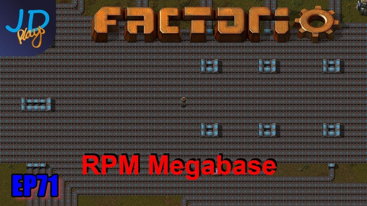 Factorio 0 17 Ep71 Miles and Miles of Belts | RPM Megabase
