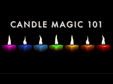 How to Use Candles to Manifest Pt 1 | Candle Colors and Meanings