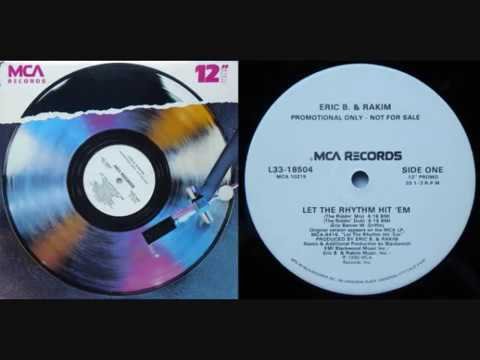 "ERIC B. & RAKIM - Let The Rhythm Hit 'Em (12"" Promo) - 1990"