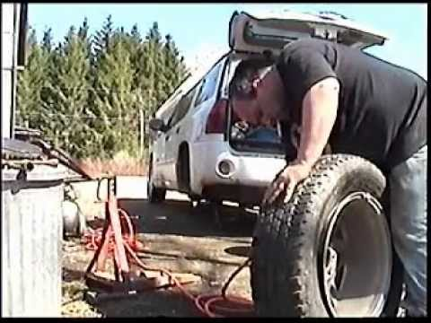 How to change your own tires by hand and by yourself