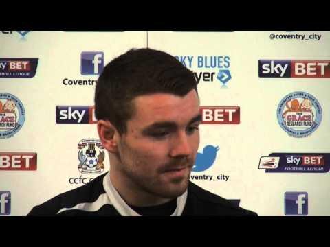 Coventry City midfielder John Fleck looks ahead to Bradford City