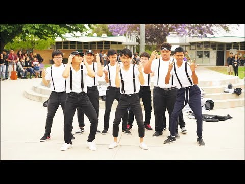 Santiago High School Dance Off 2017 - Girls League vs Boy's League LXG: Boy's Dance