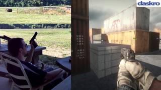 guns in battlefield 3 m9 pistol beretta 92fs