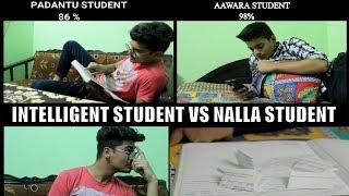 INTELLIGENT STUDENT VS NALLA STUDENT VINES