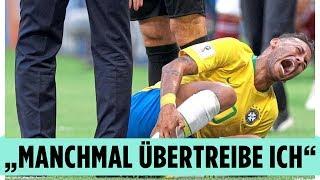 Neymar gibt Schauspielerei zu