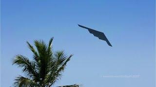 B2 Bomber & F16 / Miami Beach Air & Sea Show