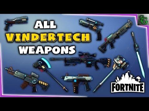 Fortnite - Vindertech Weapons Preview