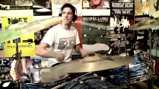 Rise Against - Black Masks and Gasoline (Drum Cover) [HD] - Kye Smith