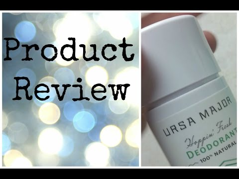 Ursa Major Hoppin Fresh Deodorant-One Minute Review