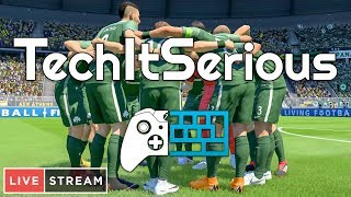 🔴 FIFA 19 CAREER LIVESTREAM! | TechItSerious