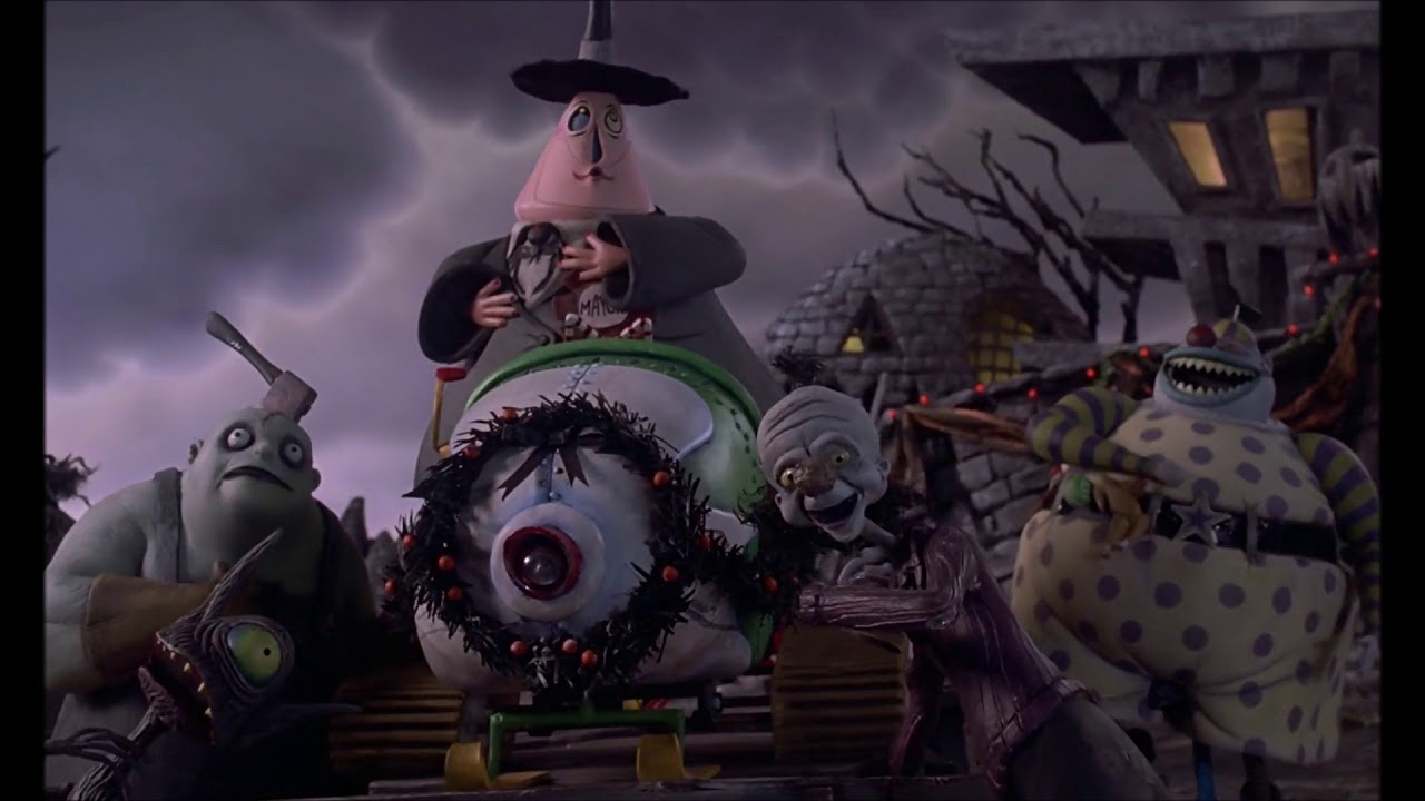 tnbc but only when the mayor of halloweentown is on screenhas dialogue - Halloweentown Nightmare Before Christmas
