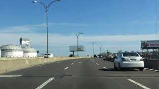 East Boston Expressway (MA 1A) northbound