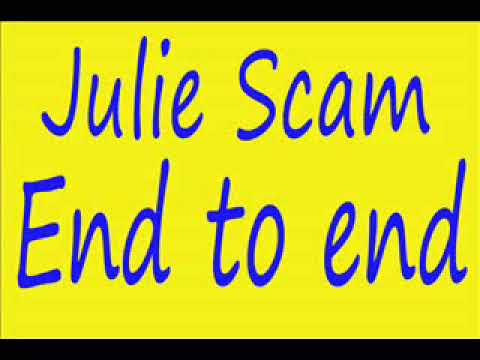 """Julie""gift card Scam end to end"