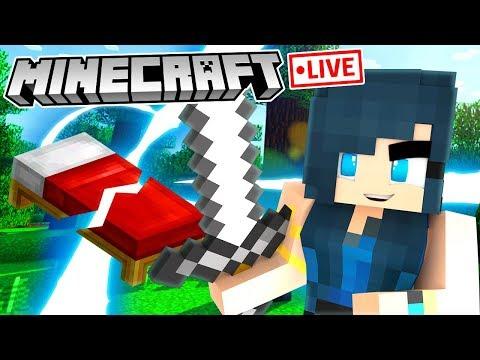 Minecraft LIVE! w/ KREW thumbnail