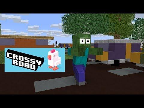 Monster School : Crossy Road - Minecraft Animation