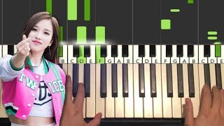 Baixar TWICE - FANCY (Piano Tutorial Lesson)