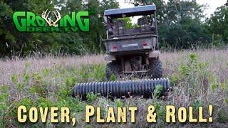 Easy Food Plots And Deer Hunting Strategies (#347) @GrowingDeer.tv
