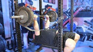 strongman press session bench press