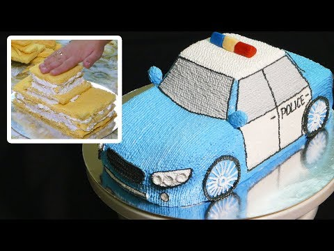 Police Car Cake Tutorial