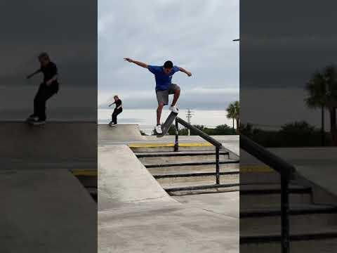 Grind for Life Series Skateboarding Contest at West Melbourne, Florida