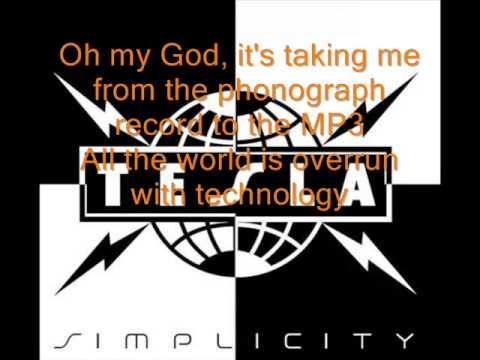 Tesla - MP3 - Lyrics