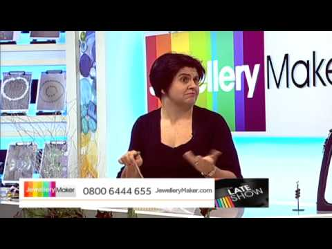 Pearl Trio Bundle on The Late Show with Ed McKay (JewelleryMaker) LIVE 22/12/2014