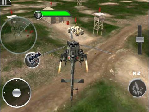 Gunship Sandstorm Wars 3D gameplay android