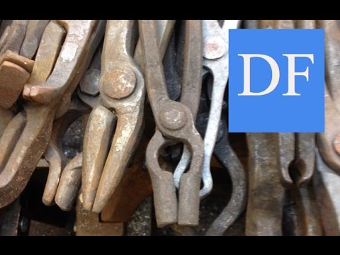 Blacksmithing For Beginners - Basic Tong Shapes and Their Uses