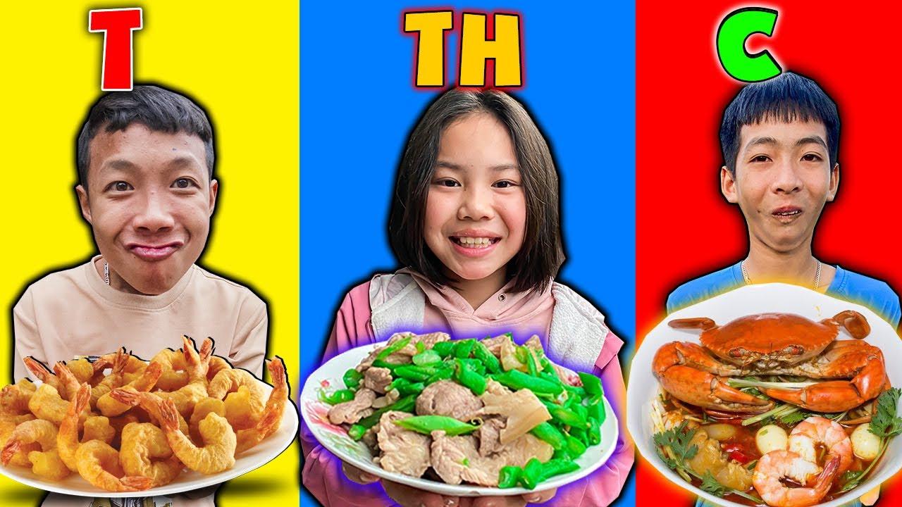 Thái Chuối | Nấu Ăn Theo Tên Thành Viên Trong Team Trẻ Trâu - Bữa Cơm Vui Nhộn