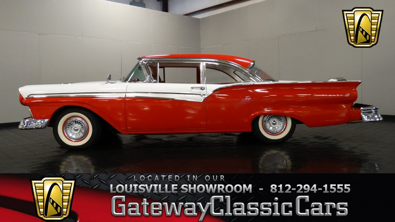 1957 ford fairlane 500 louisville stock 926 youtube