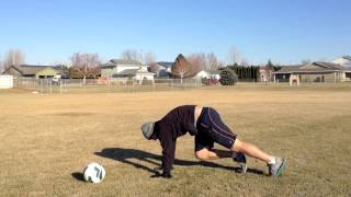 Full Body Workout For Soccer Players: No weights required