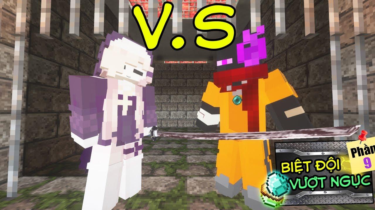 Download Minecraft Biệt Đội Vượt Ngục (PHẦN 9) #8- JAKI VS ELENA - AI GIỎI HƠN ? 👮 vs 💪