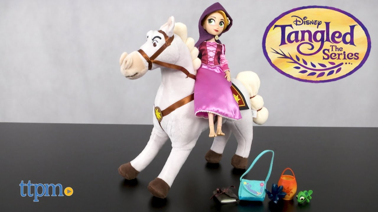 Disney Tangled The Series Rapunzel And Maximus Adventure Set From Figure