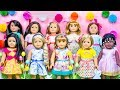 Dressing My American Girl Dolls For EASTER SPRING! Play Dress Up with Disney Princess Elsa Frozen 2!